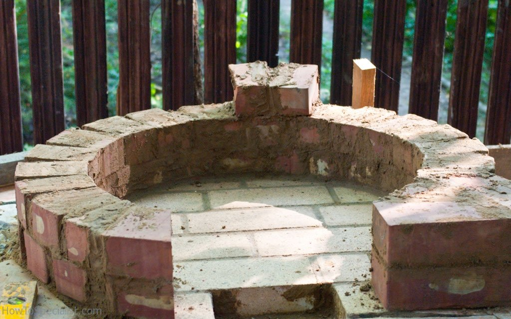 how to build wood oven