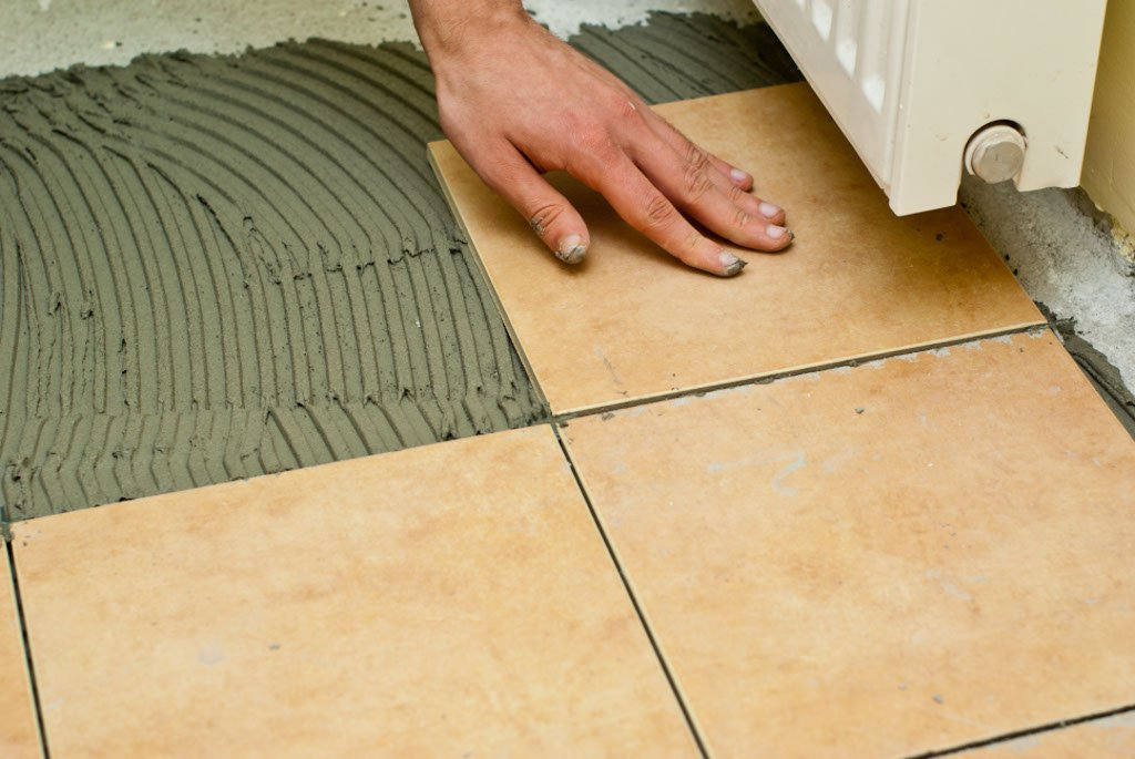 How to tile a concrete floor