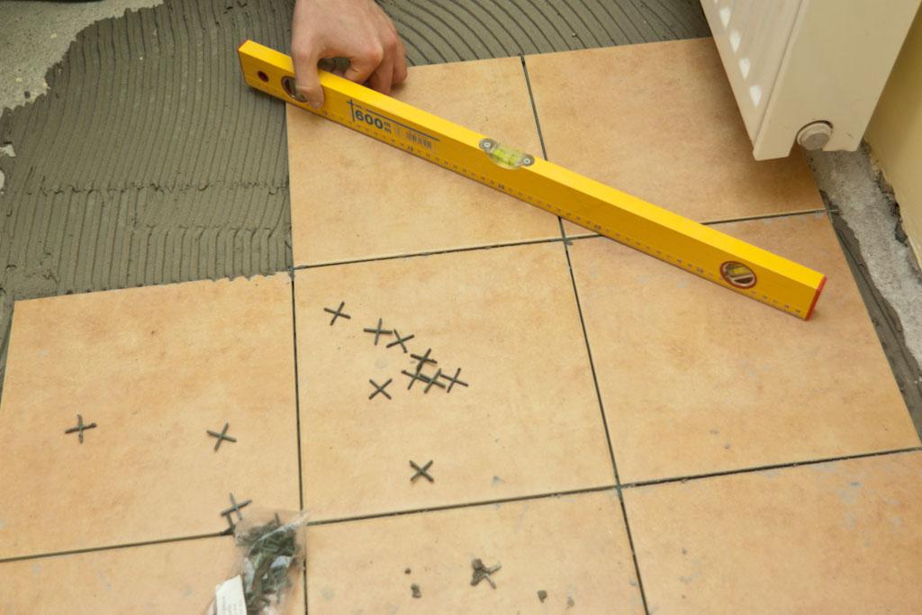 How to tile a concrete floor