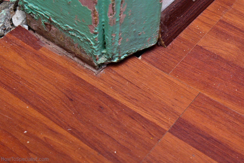 Laminate Flooring Door Jamb