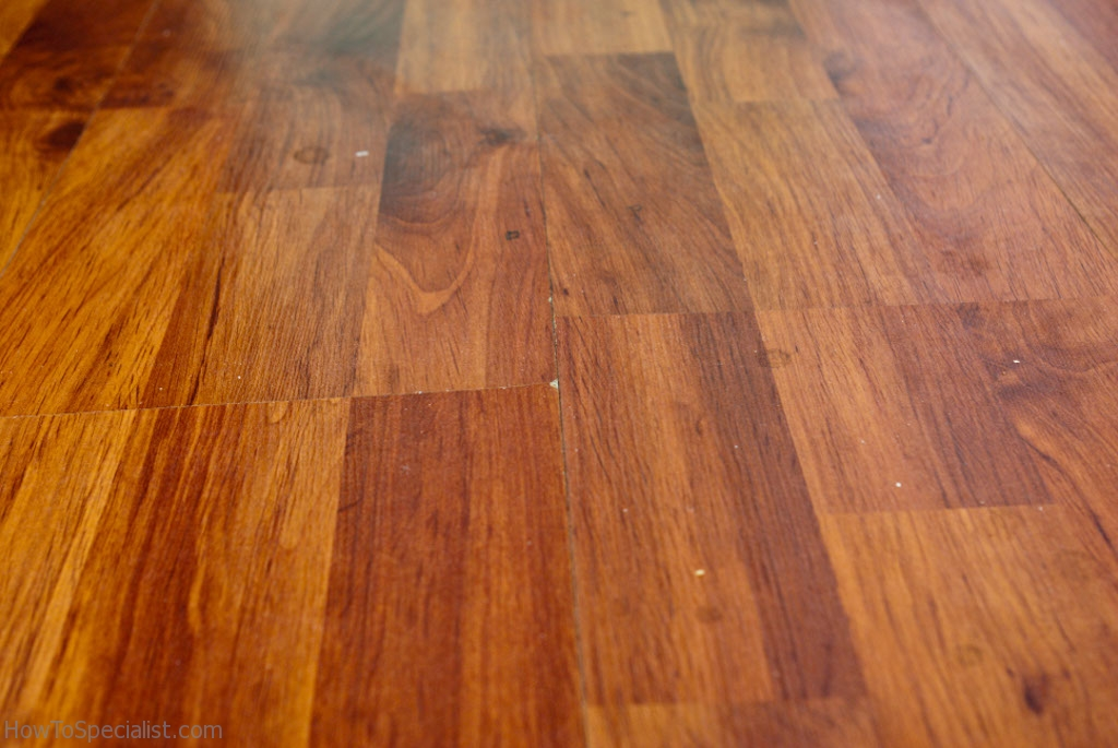Laminate flooring peaking