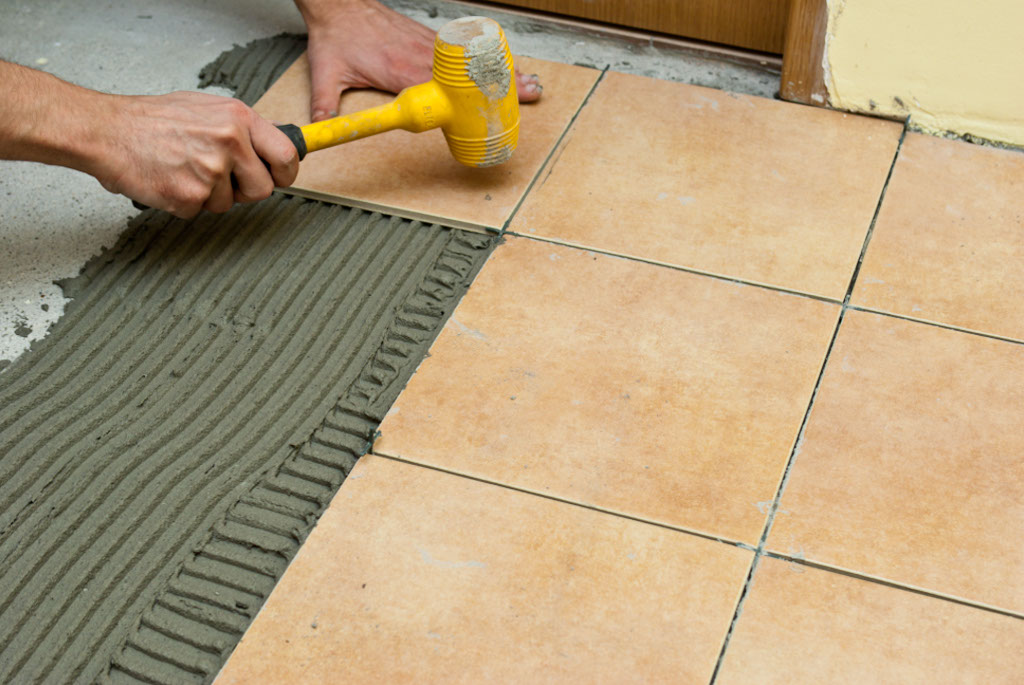 Laying Tile On Tile Adhesive Wood Grain Tile Flooring Laying Tile