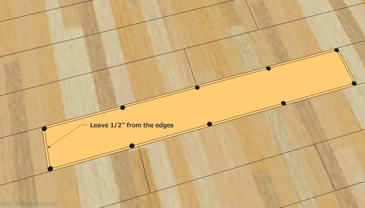 How to replace laminate flooring with a circular saw