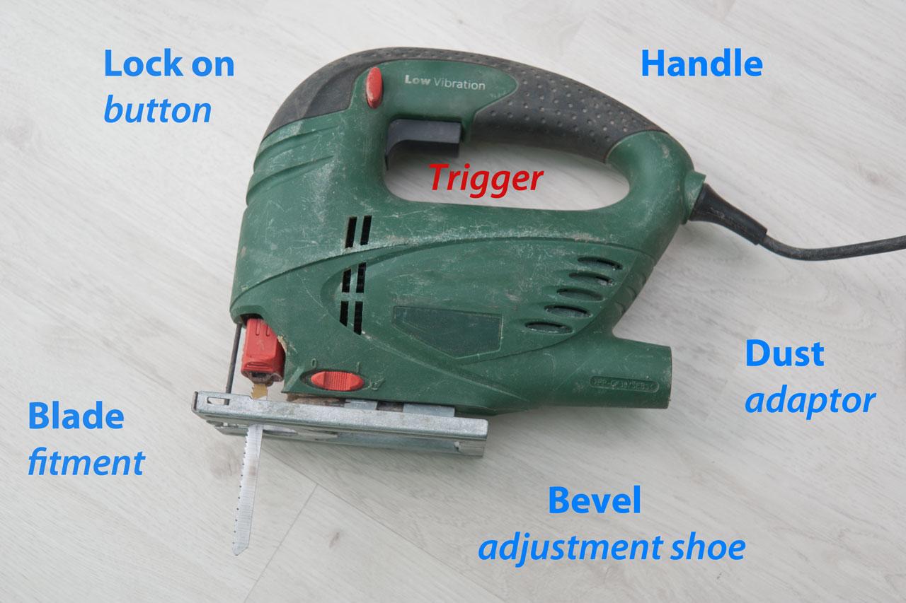 Jigsaw cutting techniques