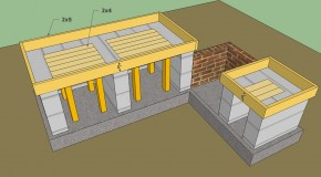 diy outdoor kitchen plans | HowToSpecialist - How to Build, Step