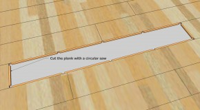 How to replace laminate flooring