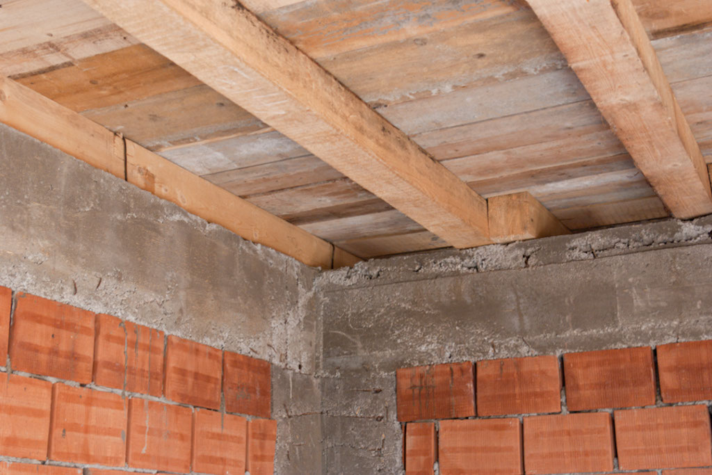 Building wood floor