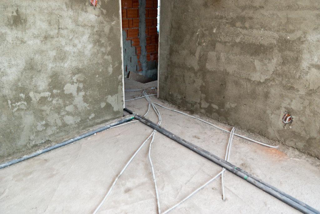 Cement rendering walls
