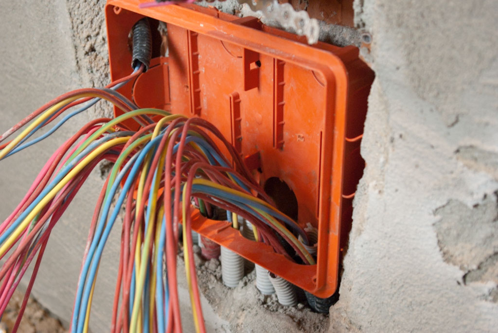 Electrical system for brick house