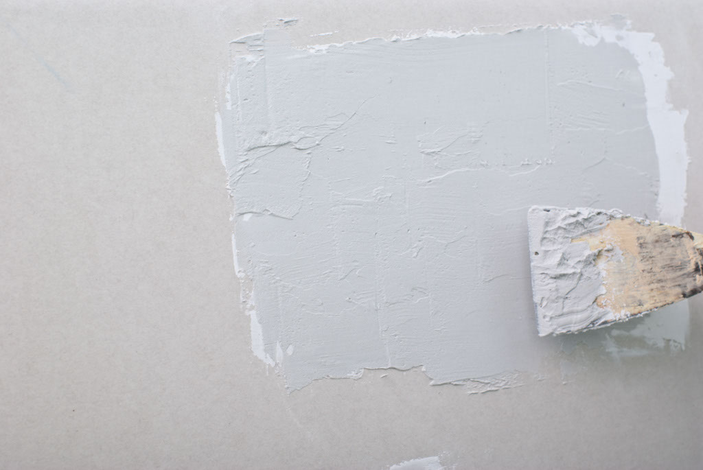 How to fix small hole in drywall