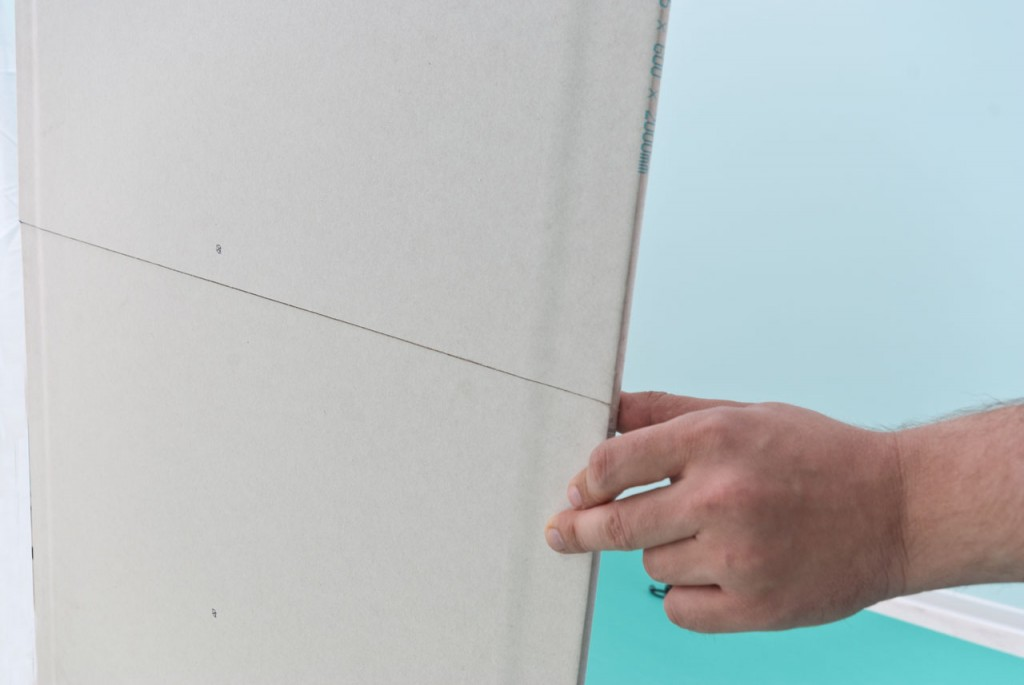 How to cut sheetrock