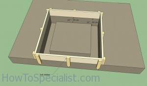 Wood fired oven foundation plans