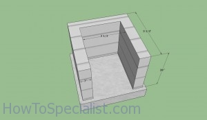 Wood fired oven base plans