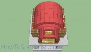 Wood fired oven chimney plans