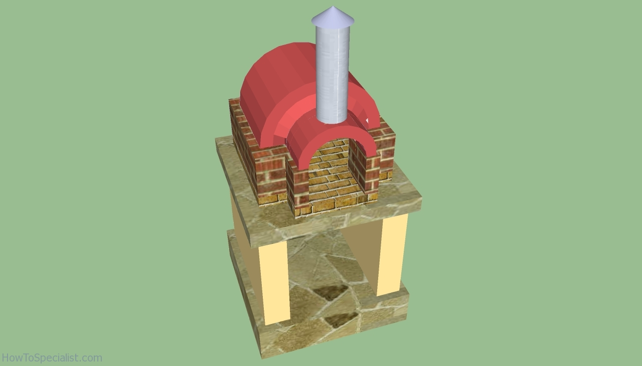 Wood-Burning Pizza Oven Plans