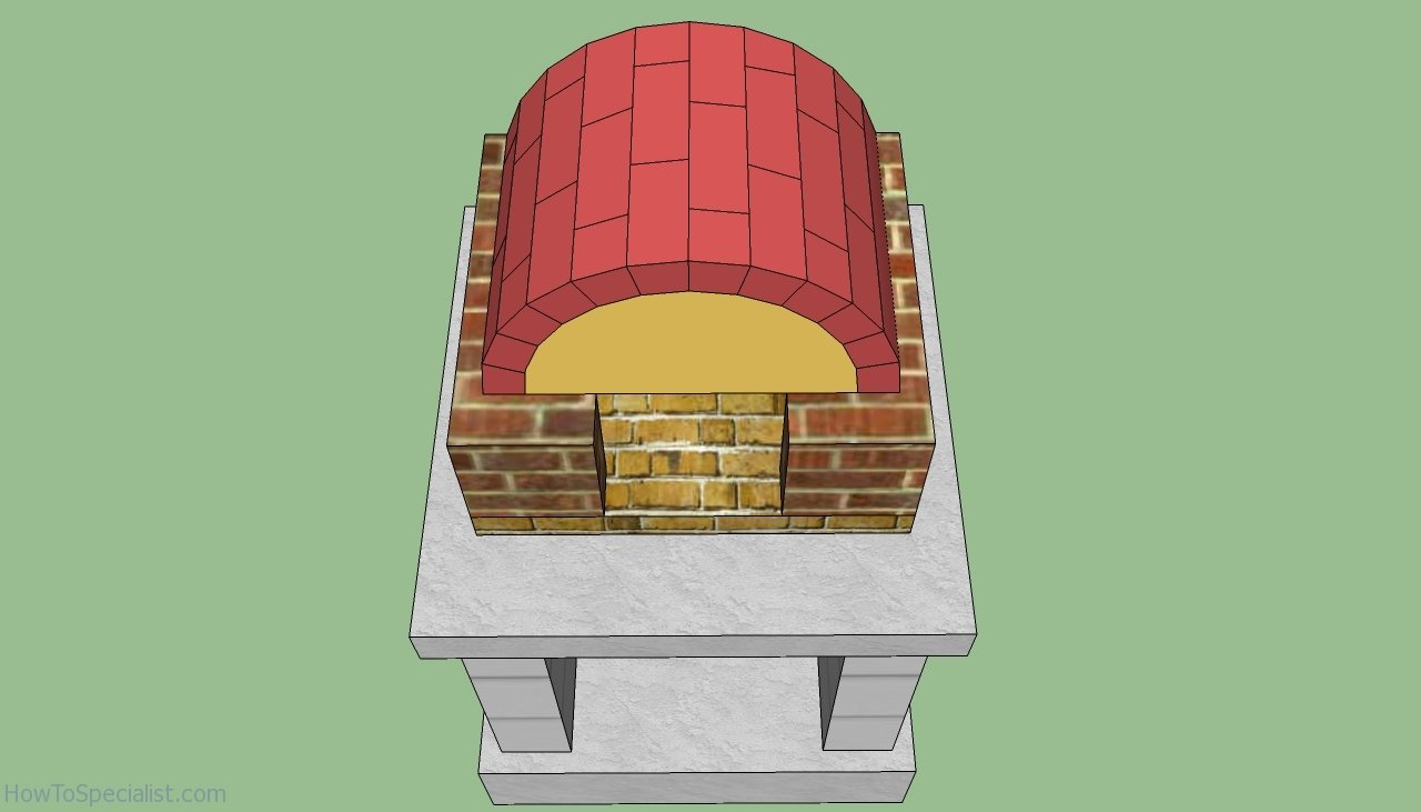 how to build an outdoor wood burning pizza oven