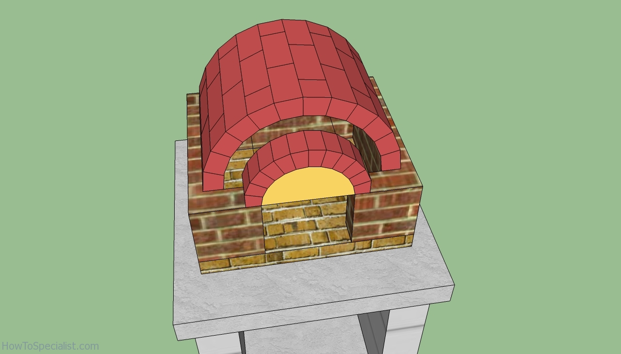 free wood fired pizza oven plans
