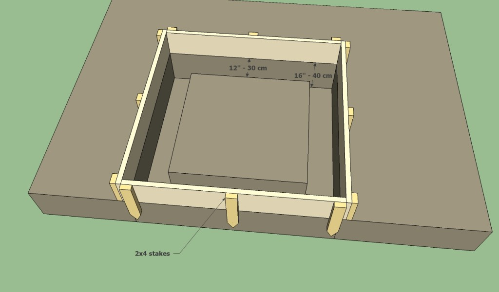 Bbq pit foundation plans