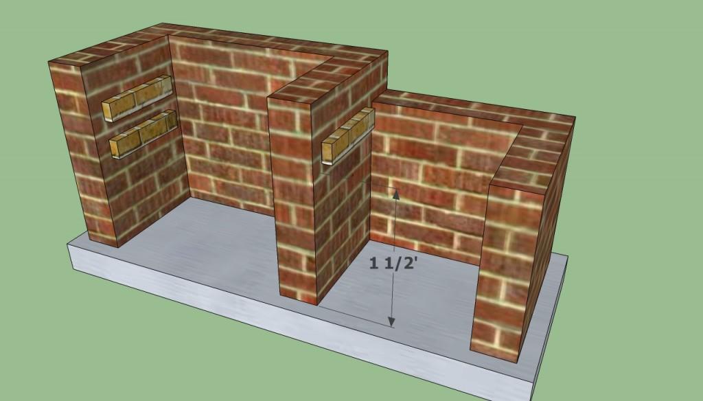 Building bbq pit