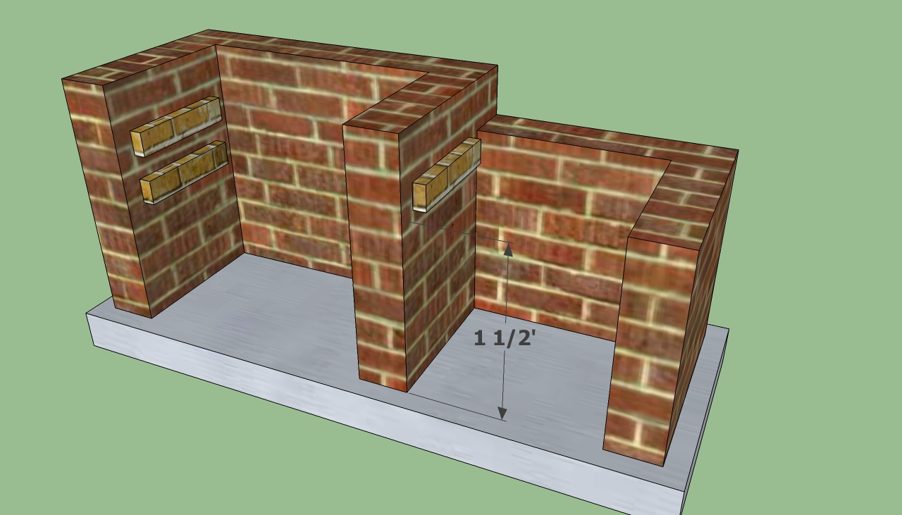 How to build a brick barbecue 7391 jpg pictures to pin on pinterest