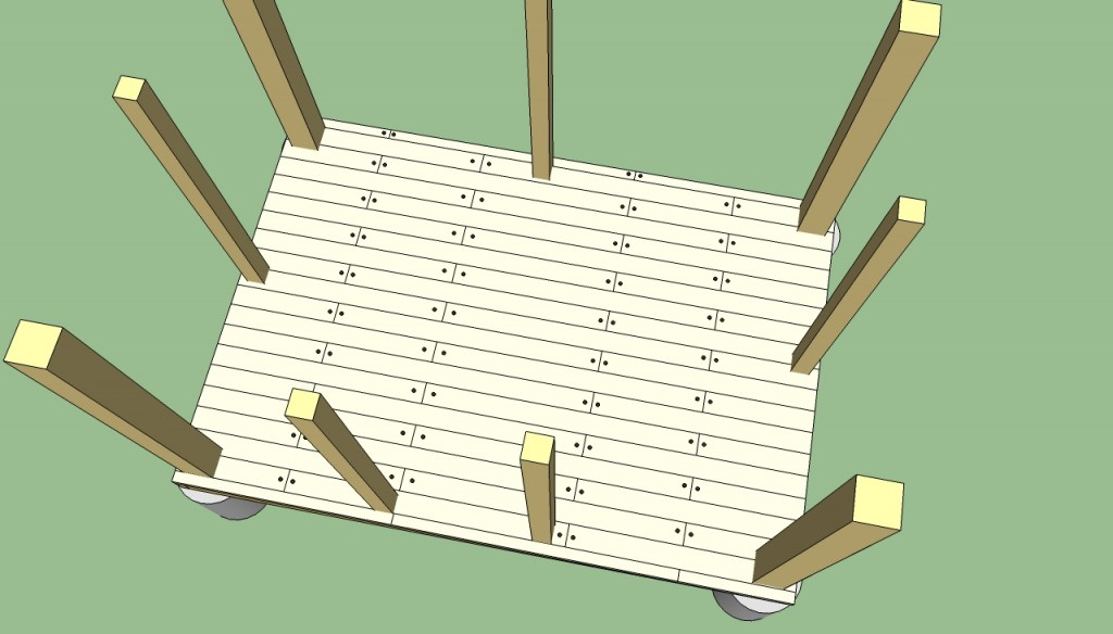 Gazebo flooring plans