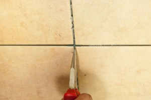 Removing wall tile spacers