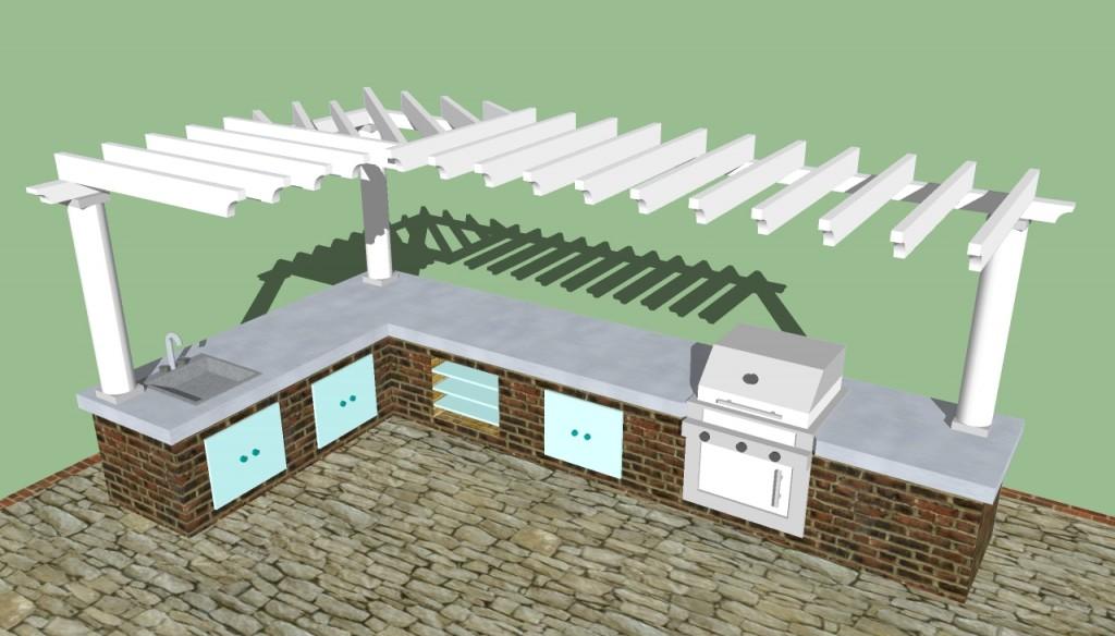 Modern outdoor kitchen designs