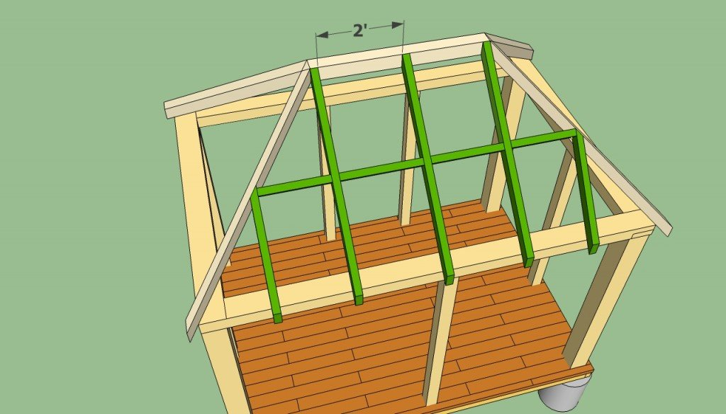 Rectangular gazebo plans howtospecialist how to build for Gazebo house plans