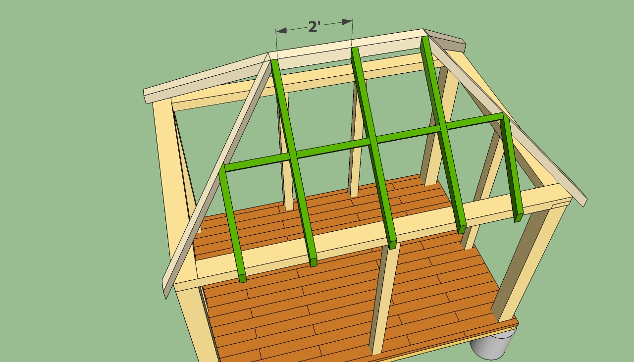 Pdf diy wooden gazebo plans free download wooden porch for Free cupola blueprints