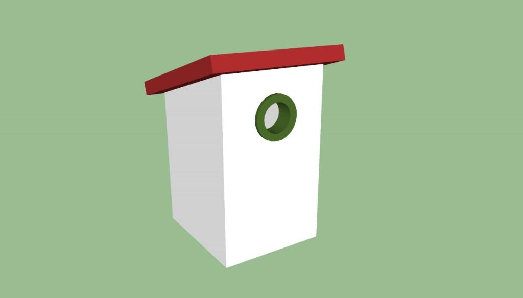 Simple birdhouse plans