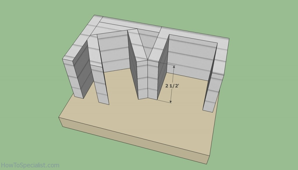 Base brick oven plans
