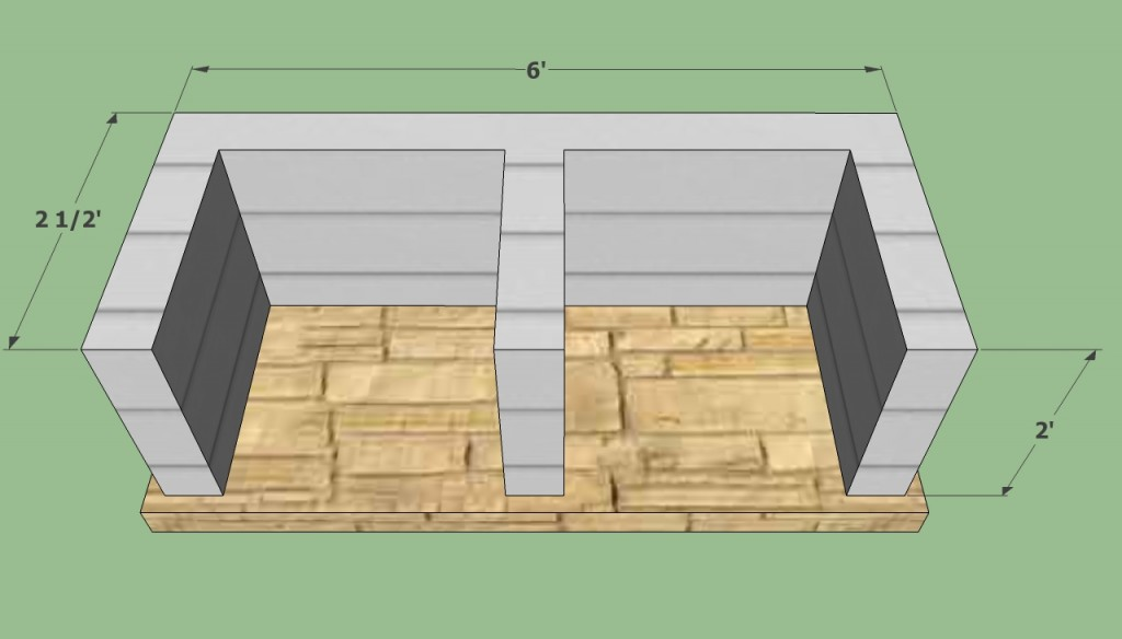 Bbq pit plans howtospecialist how to build step by