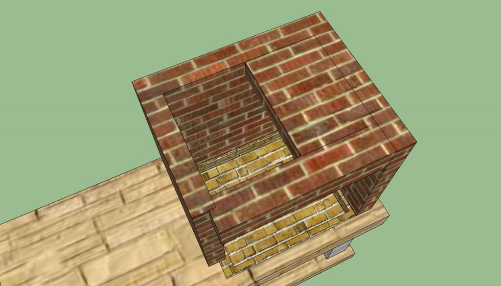 Brick bbq pit plans
