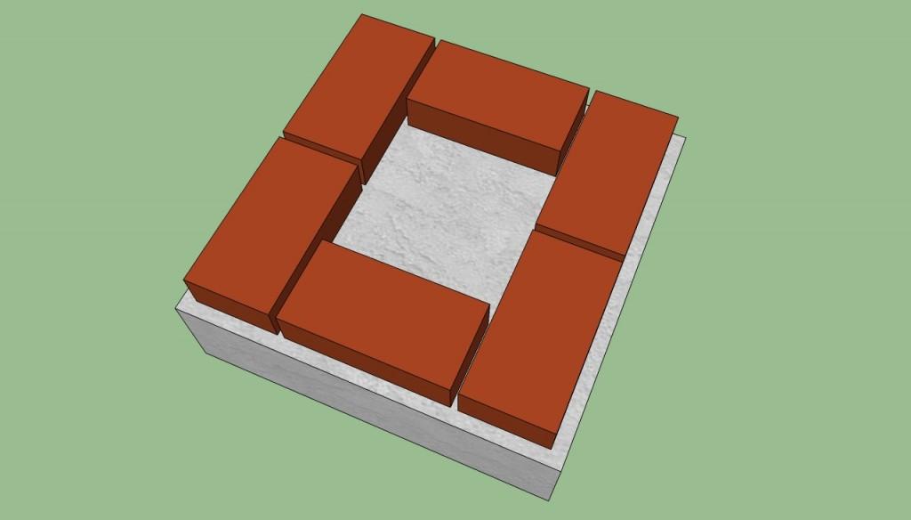 Brick bbq base plans