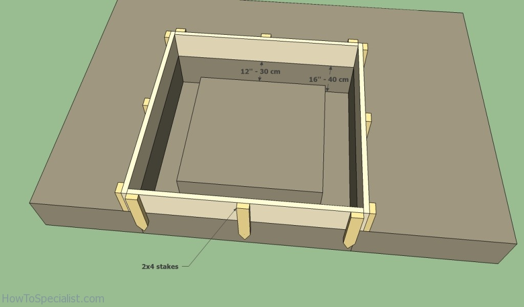 Brick oven foundation plans