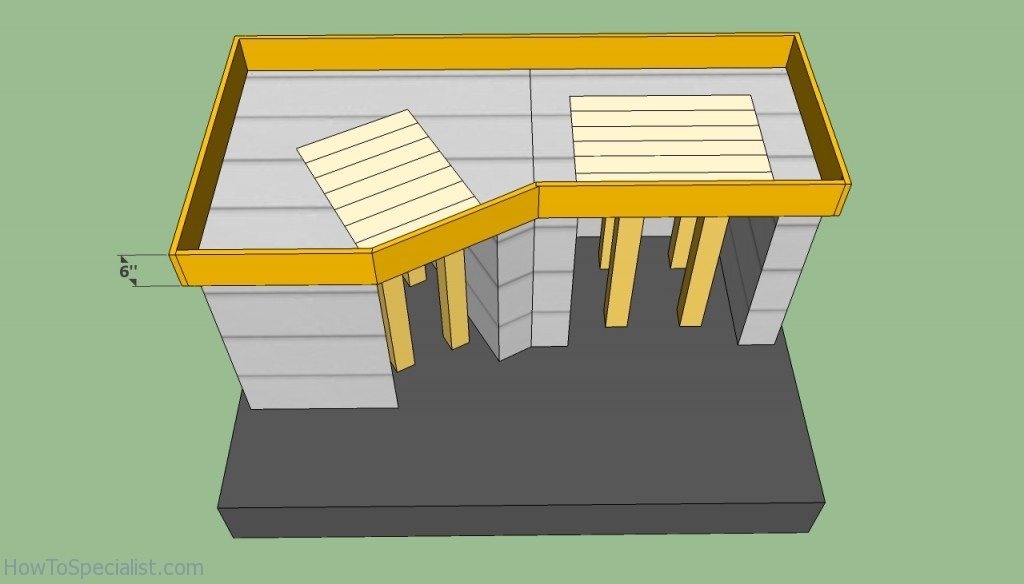 Countertop brick oven plans