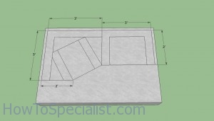 Foundation brick oven plans