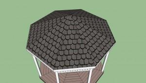Gazebo roof plans free
