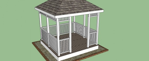 How to build a gazebo howtospecialist how to build for Gazebo cost to build