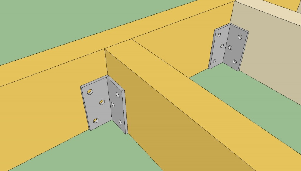 How to attach floor joists
