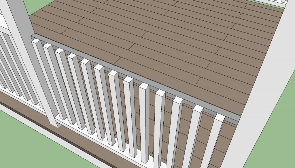 How to build gazebo railings