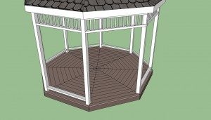 Gazebo bottom rail plans