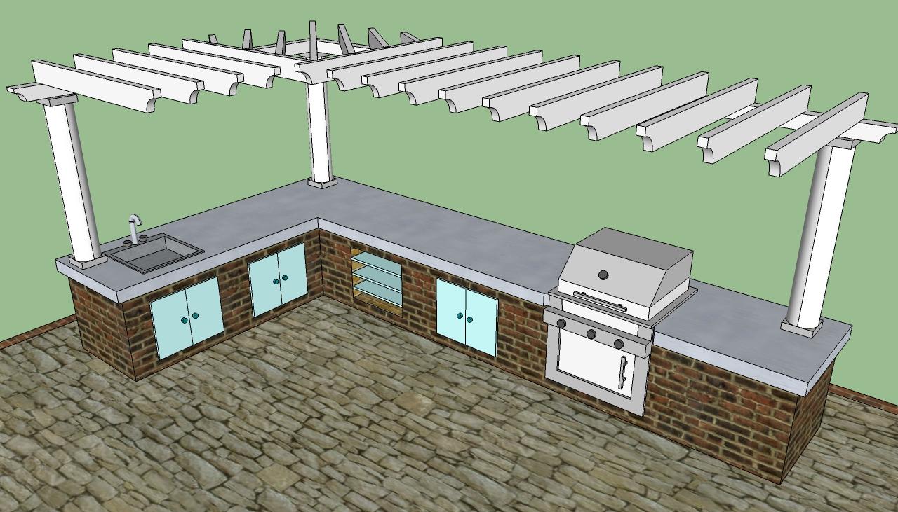 Outdoor kitchen kits Diy kitchen design planner