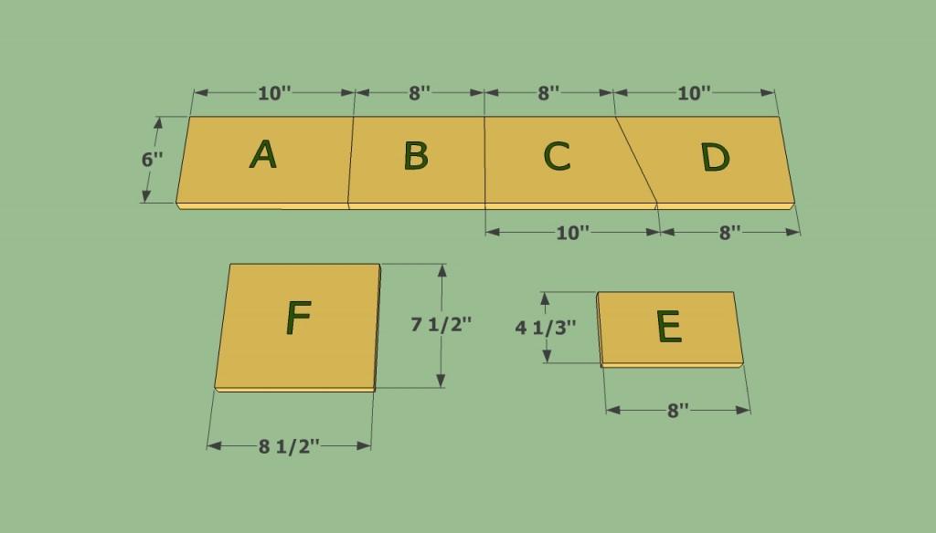 Easy to build birdhouse plans