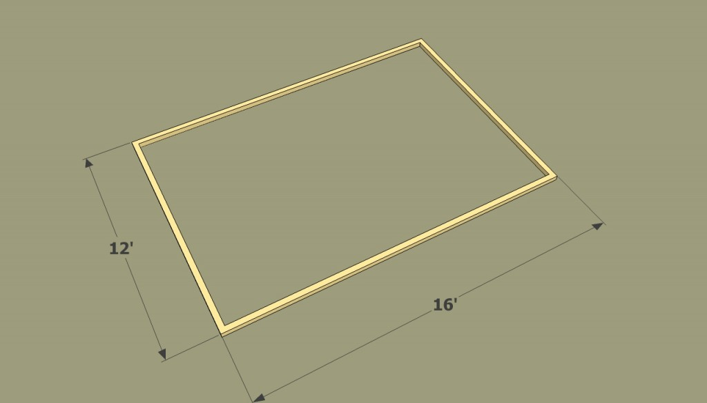 Small greenhouse frame plans