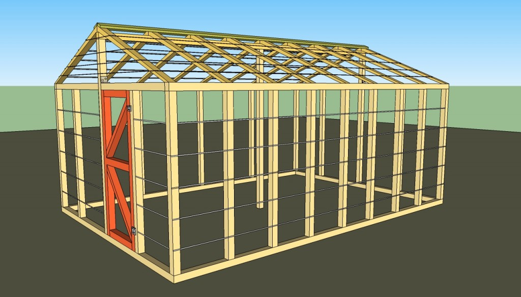 Small greenhouse plans howtospecialist how to build for Small wooden greenhouse plans