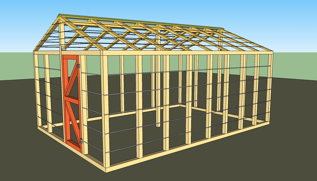 Small greenhouse plans howtospecialist how to build for Green home blueprints