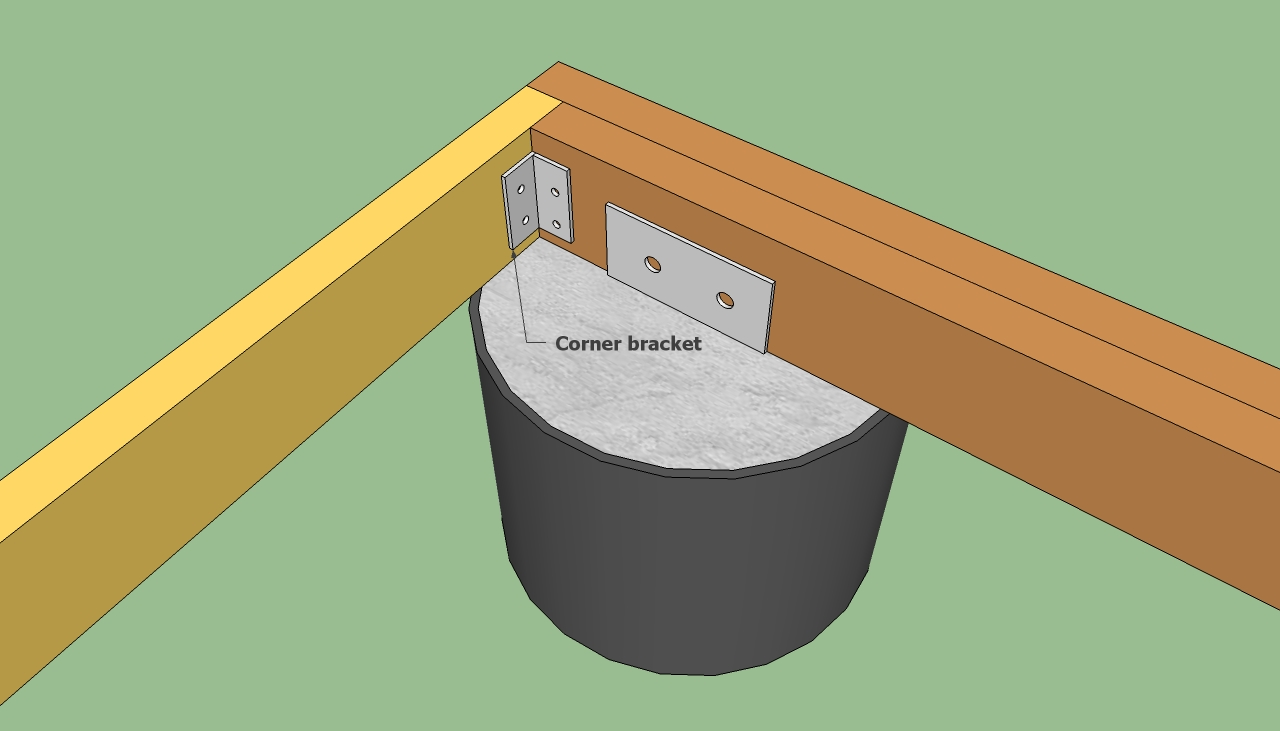 How To Build A Deck On The Ground Howtospecialist How To Build Step By Step Diy Plans