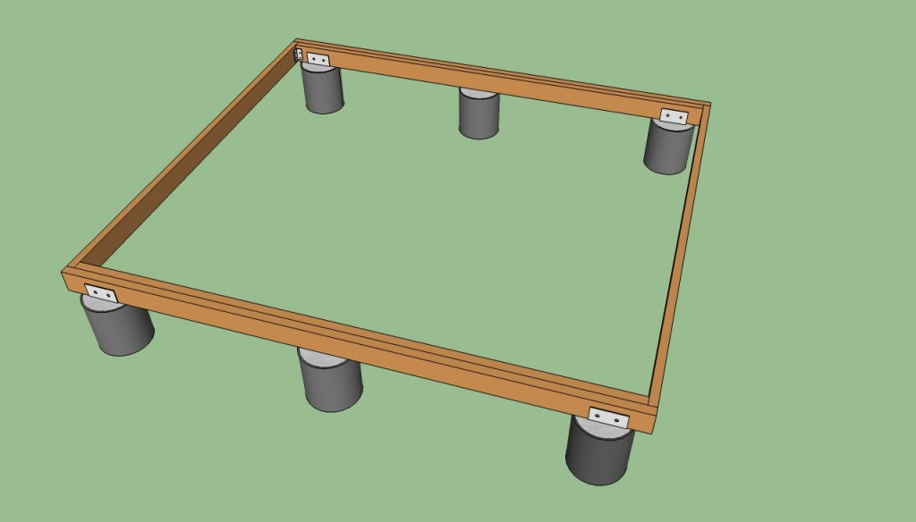 Building a stand alone deck