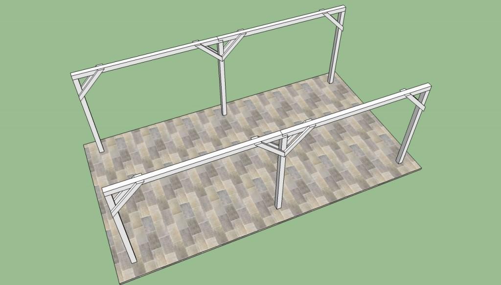 Carport frame plans
